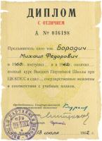 Diploma of Higher Party School
